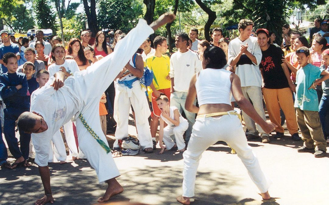 Why does the Peacemaker Academy Include Capoeira?